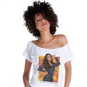 T-shirt Premium Feminina Ivete Sangalo Veveta Tropical