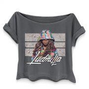 T-shirt Premium Feminina Ludmilla Picture