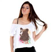 T-shirt Premium Feminina Sofia Oliveira Stay Wild