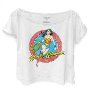 T-shirt Premium Feminina Wonder Woman Amazona