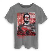 T-shirt Premium Masculina Batman VS Superman False God