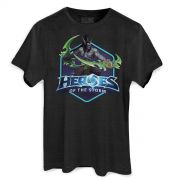 T-shirt Premium Masculina Heroes Of The Storm Illidan