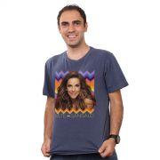 T-shirt Premium Masculina Ivete Sangalo Étnica