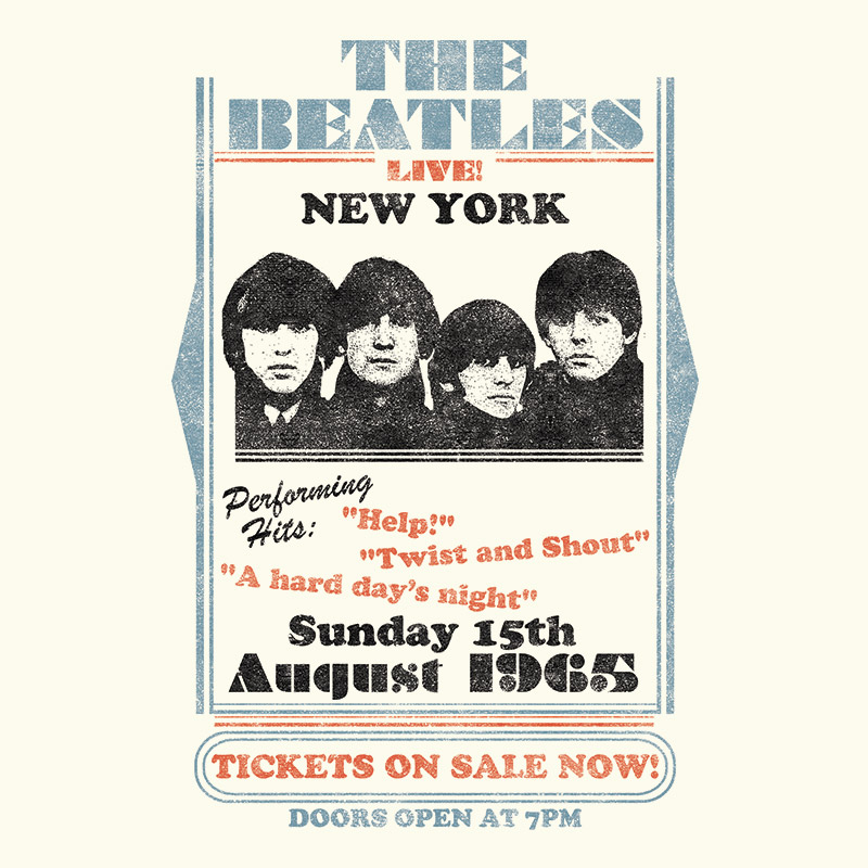 Camiseta Feminina The Beatles Tickets On Sale Now!