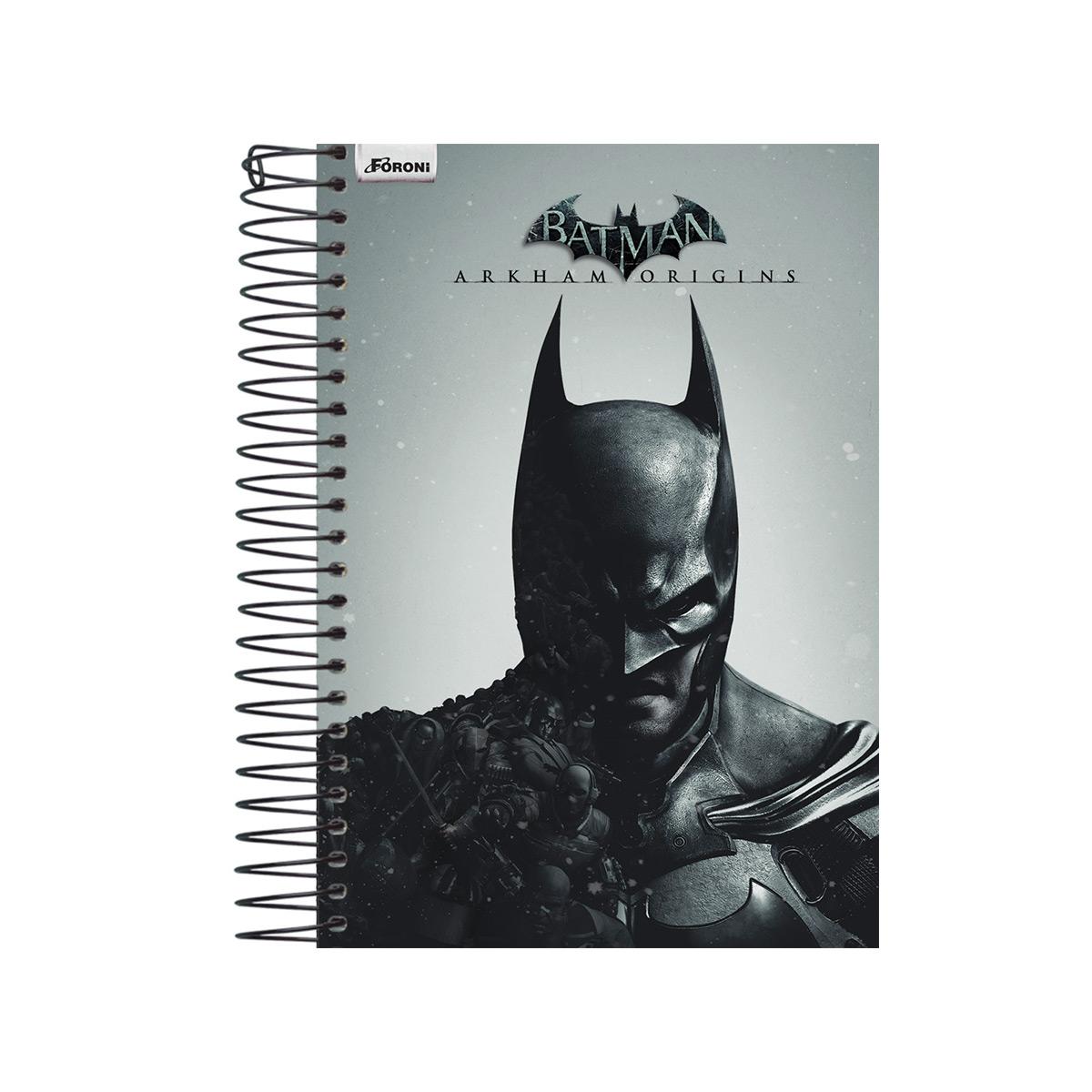 Agenda Diária Batman Half Black Face