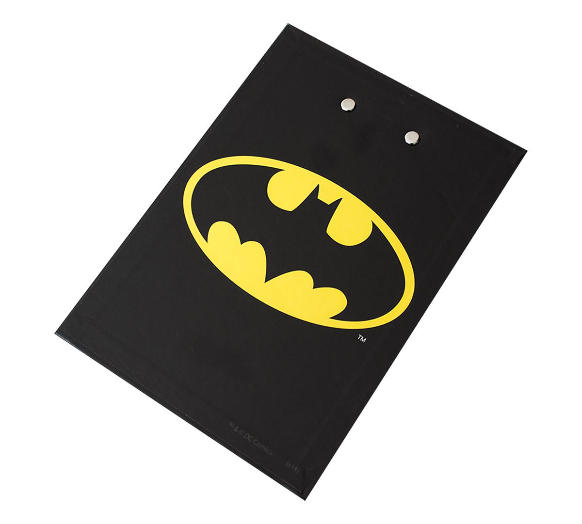 Bloco de anotação com prancheta Batman