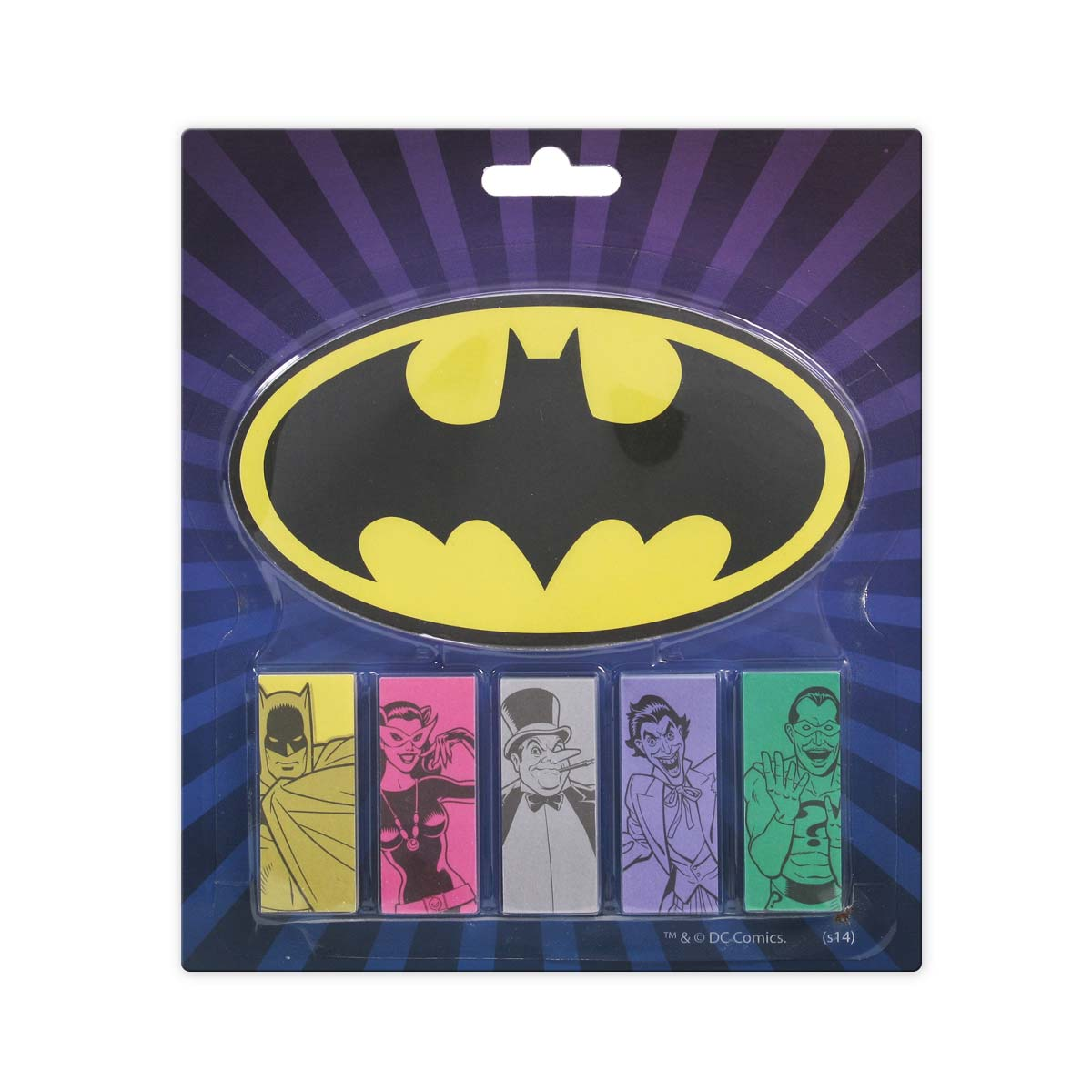 Bloco de Anotacões Batman e Vilões