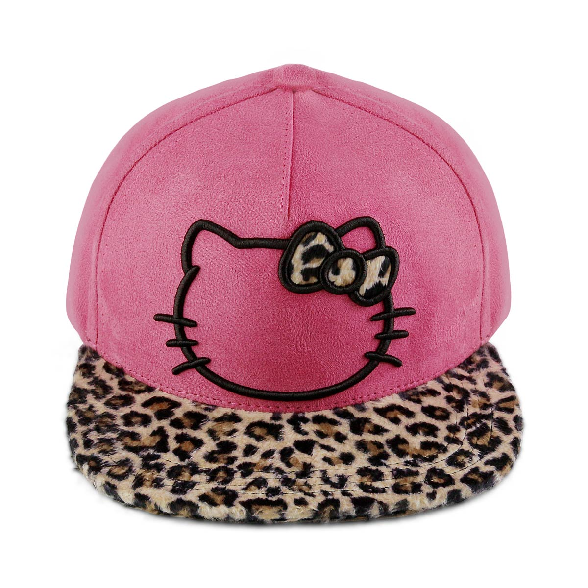 Boné Strapback Hello Kitty Leopard
