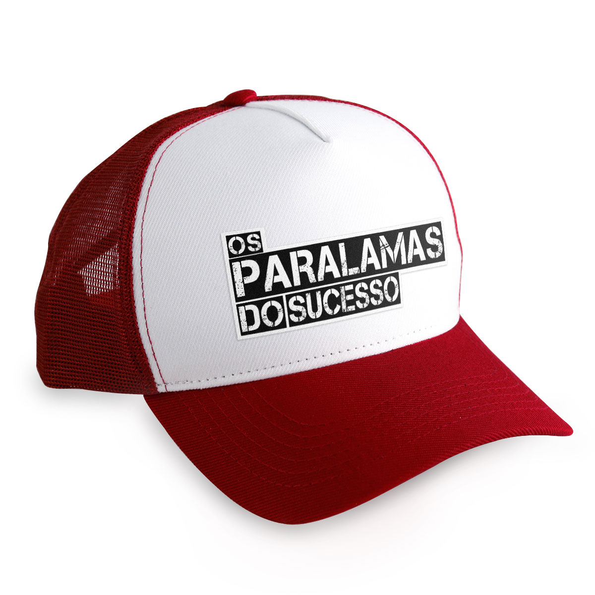 Boné Trucker Os Paralamas do Sucesso Logo