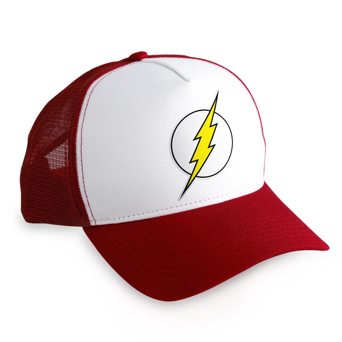 Boné Trucker The Flash Logo
