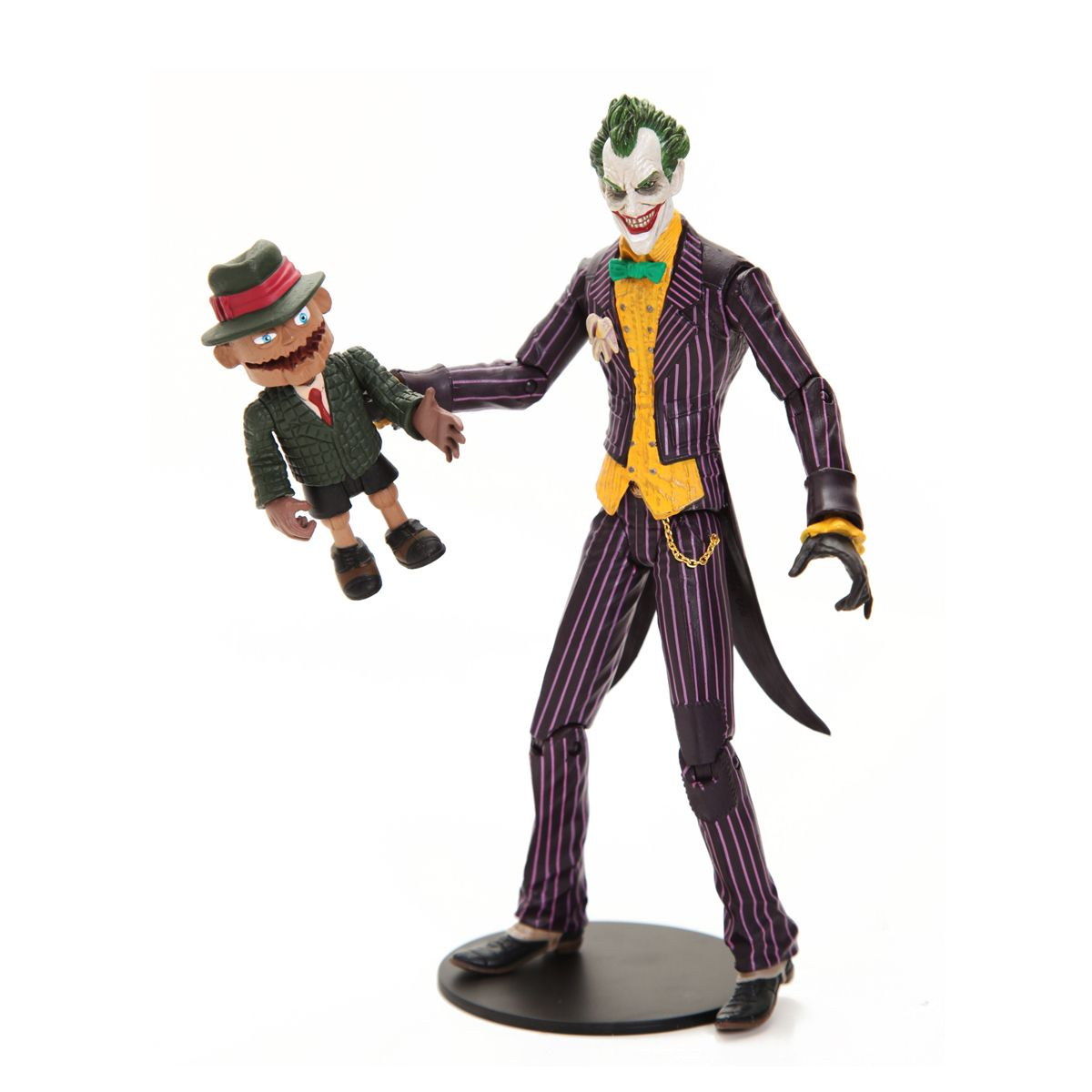 Boneco (Figure Action) Coringa e Scarface Arkham Asylum - DC Collectibles