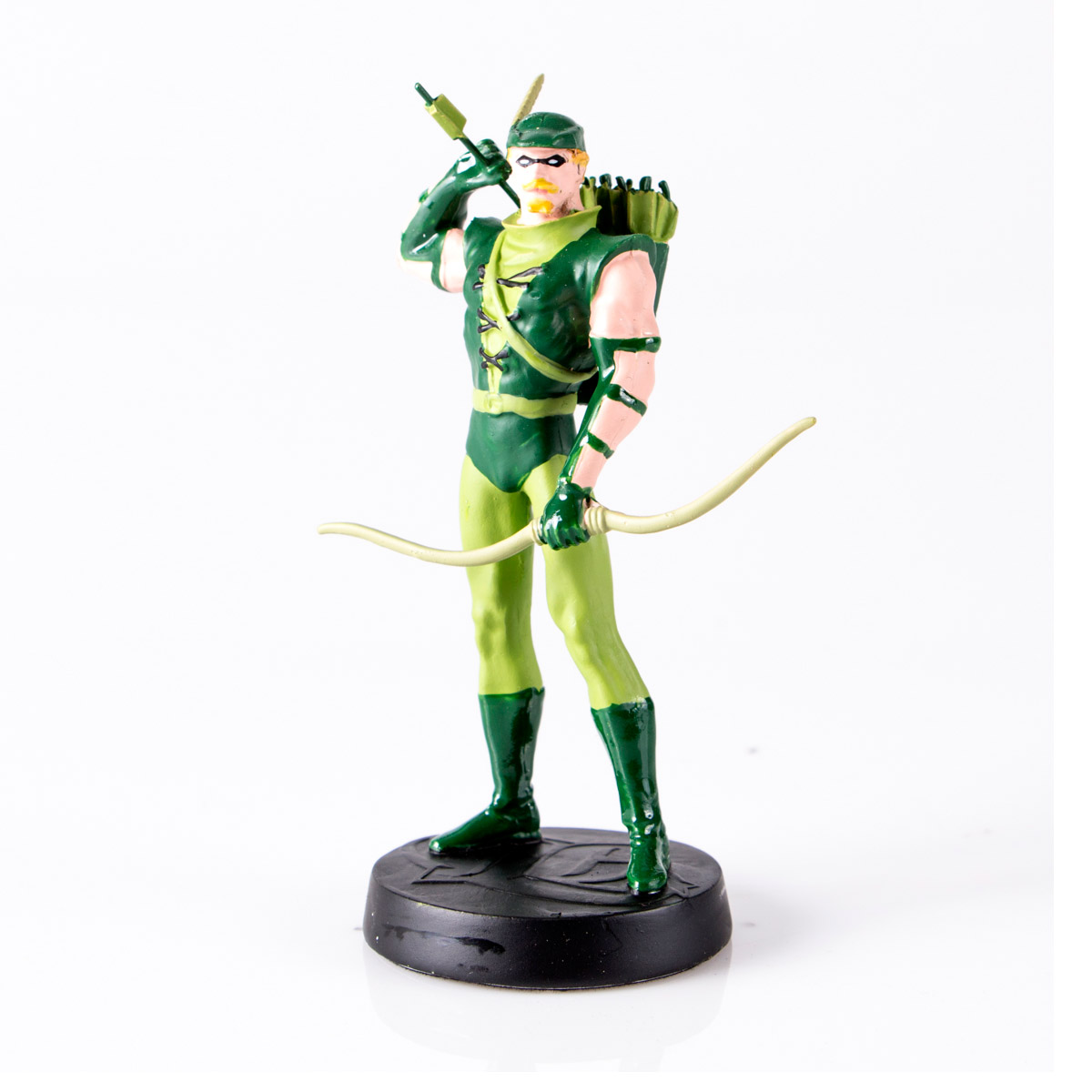 Boneco Miniatura Arqueiro Verde + Revista