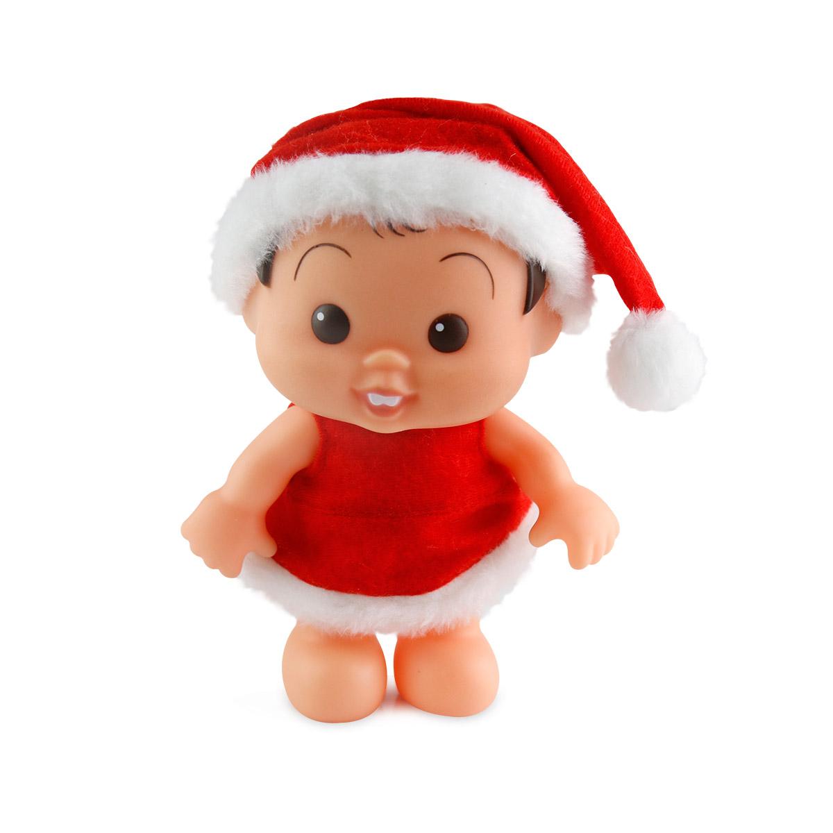 Boneco Turma da Mônica Bonitinha Natal