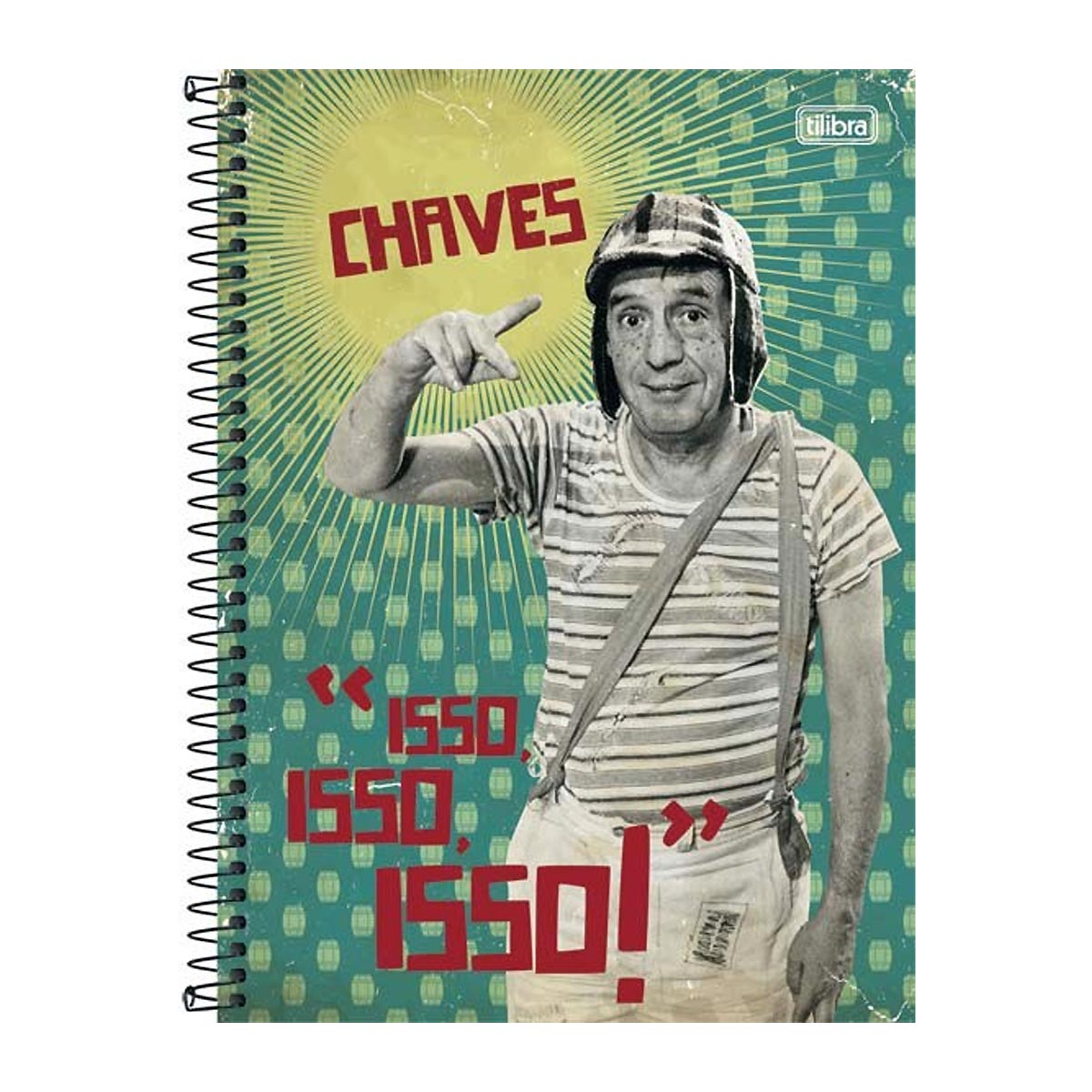 Caderno Chaves Isso Isso Isso Vintage 10 Matérias