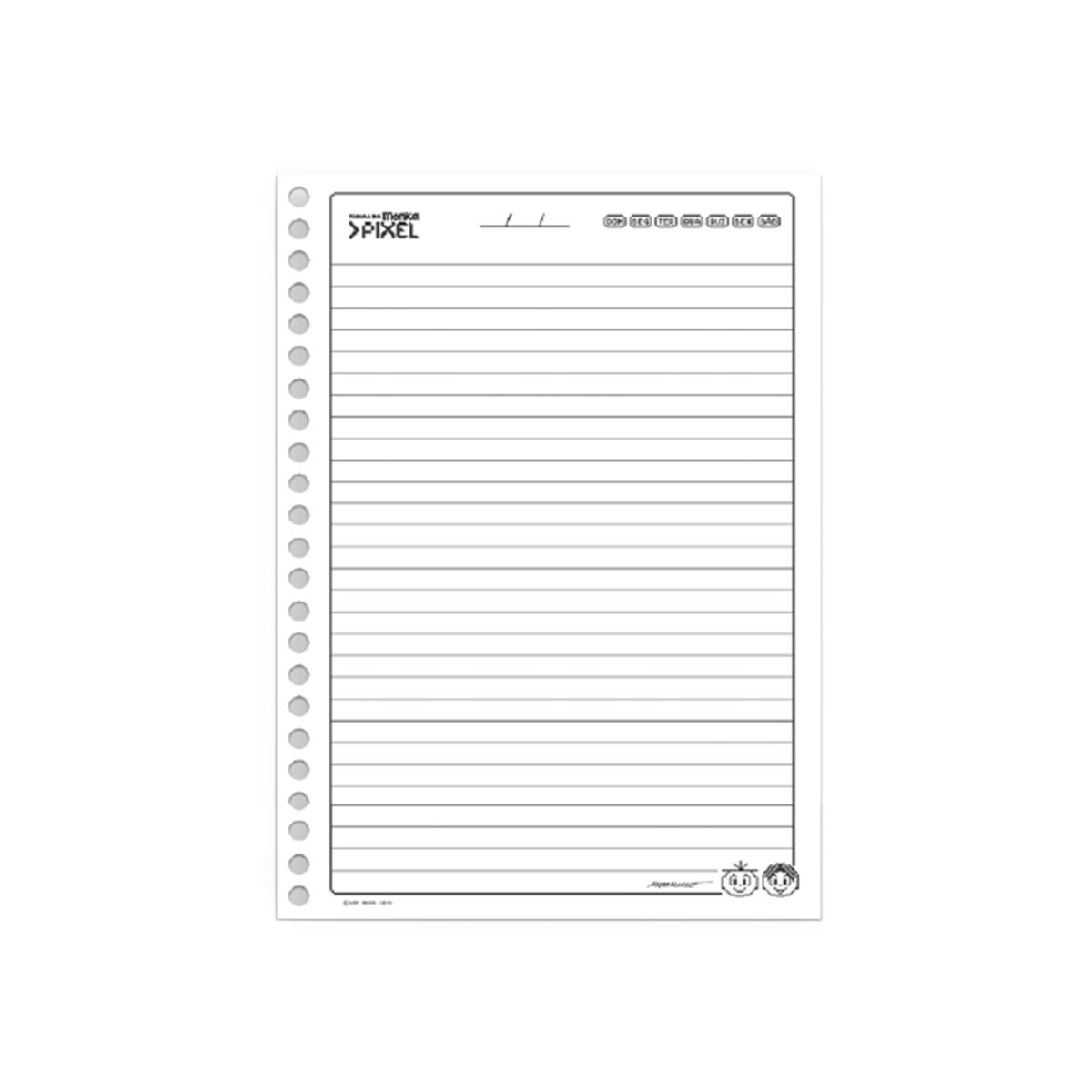 Caderno Turma da Mônica Pixel Mônica 10 Matérias