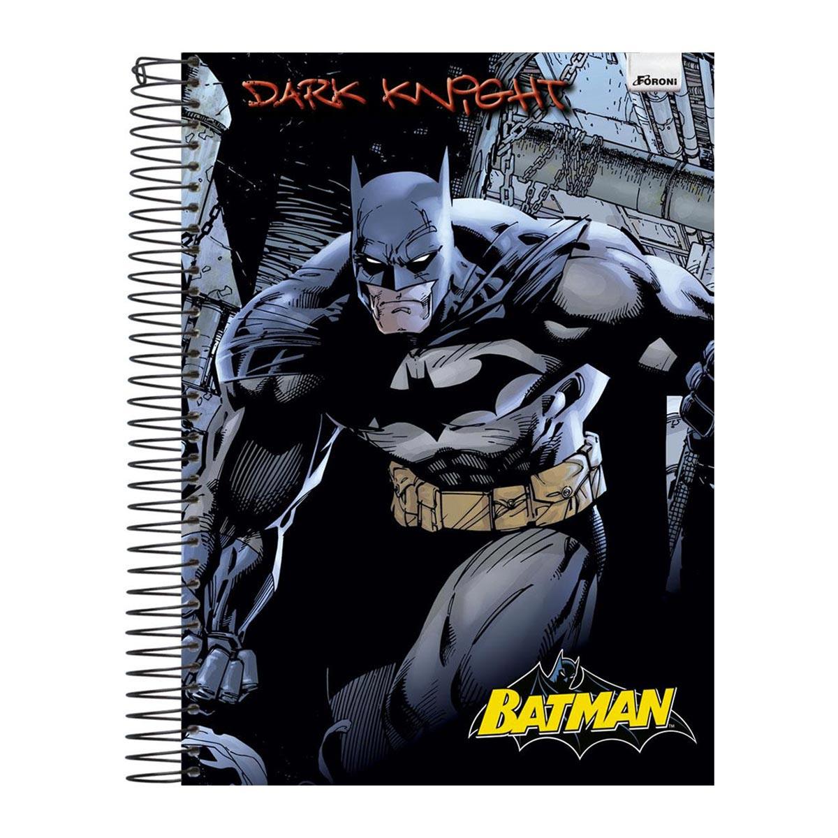 Caderno 1 Matéria Batman Dark Knight