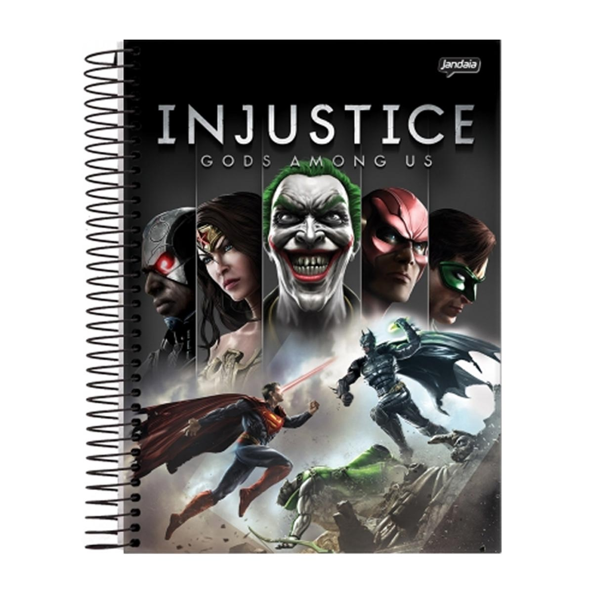 Caderno 1 Matéria Injustice Gods Among Us
