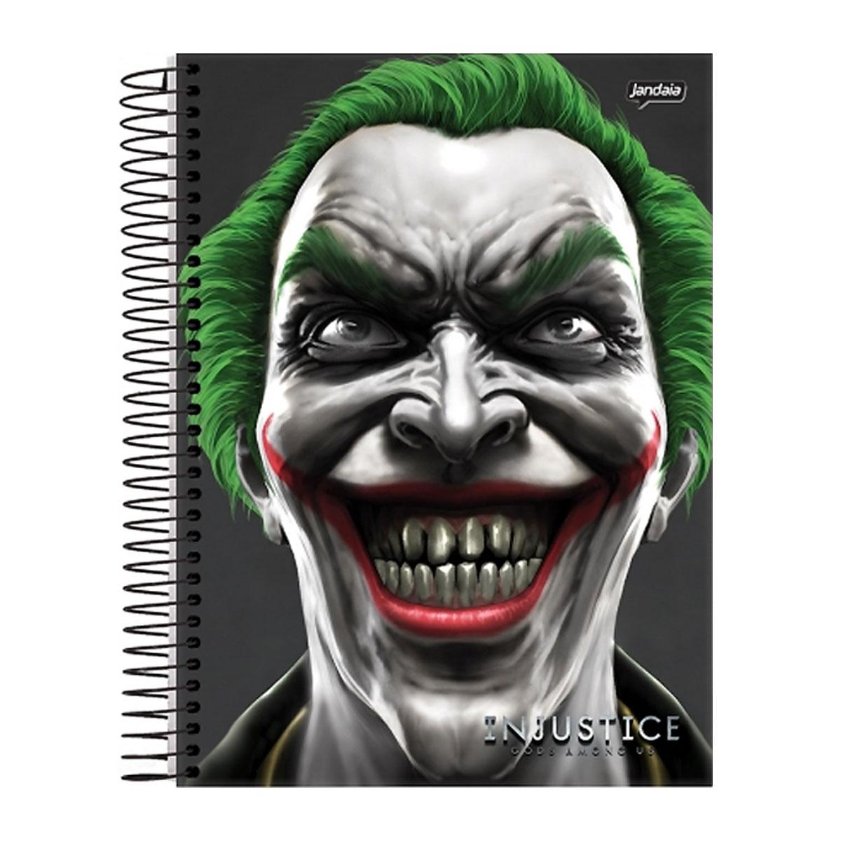 Caderno 1 Matéria Injustice The Joker