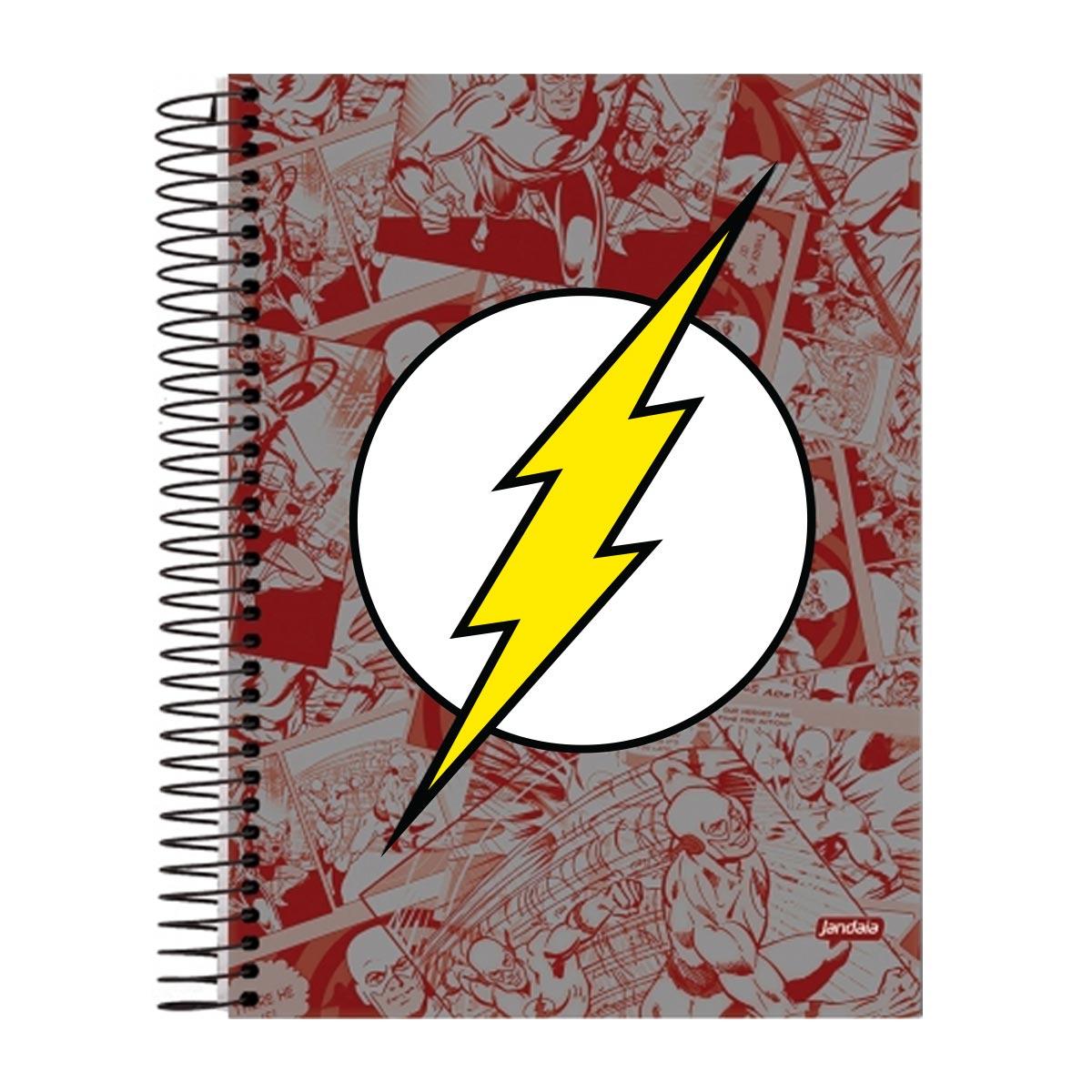 Caderno 1 Matéria The Flash Logo