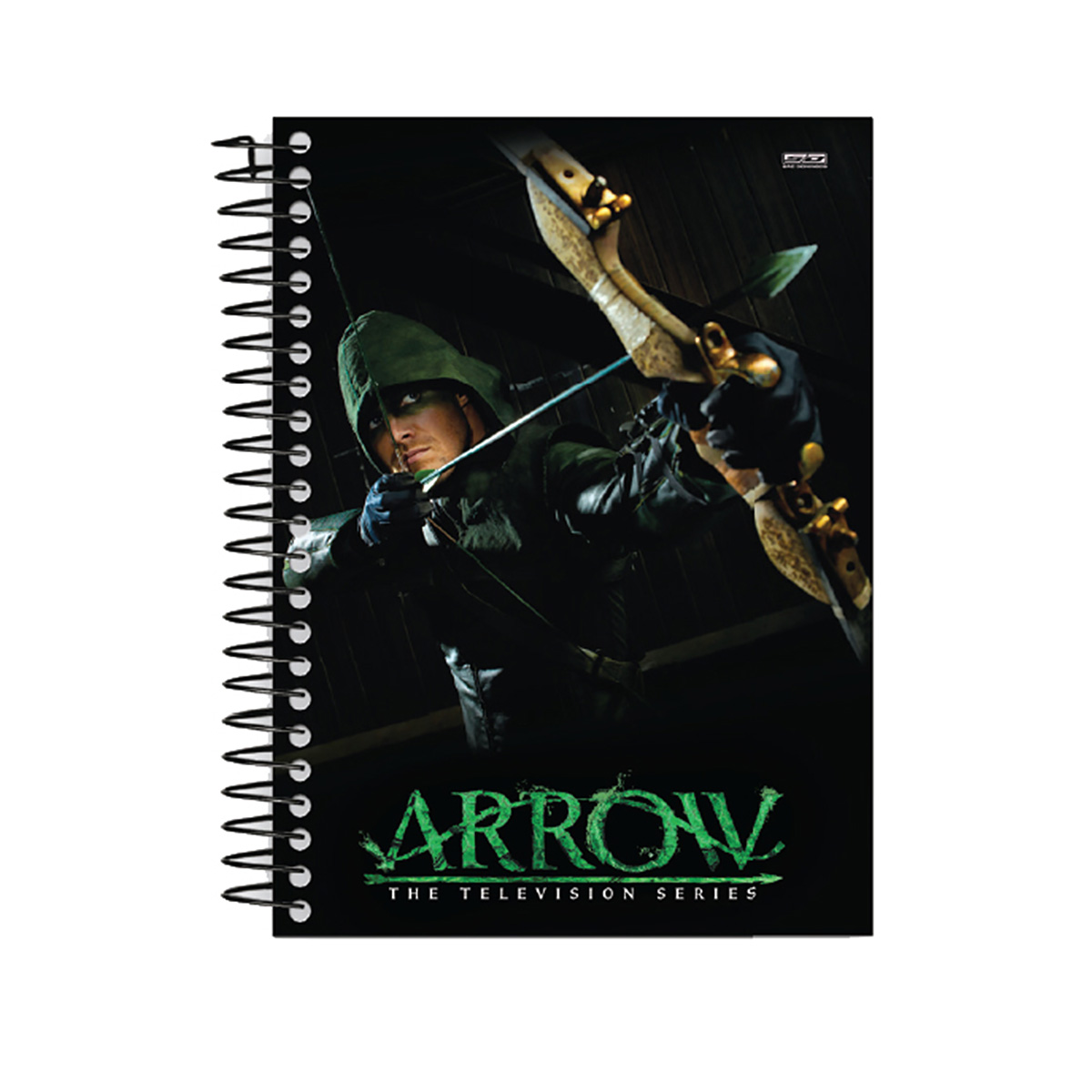 Caderno Arrow Green 1 Matéria
