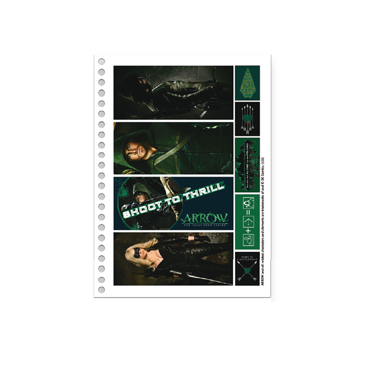 Caderno Arrow Oliver Face 10 Matérias