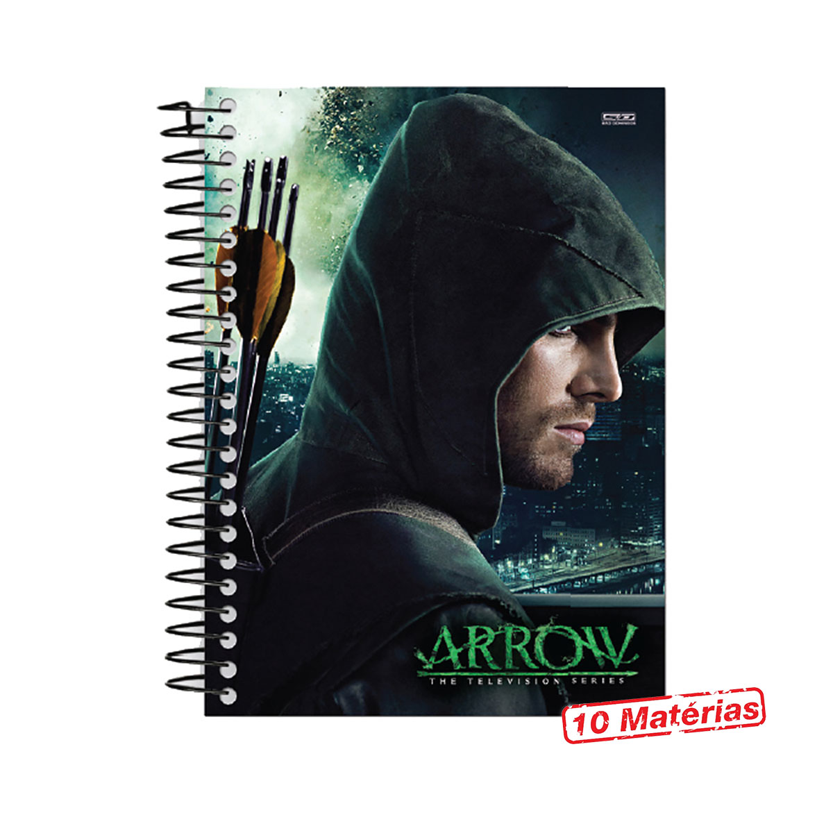 Caderno Arrow Profile 10 Matérias