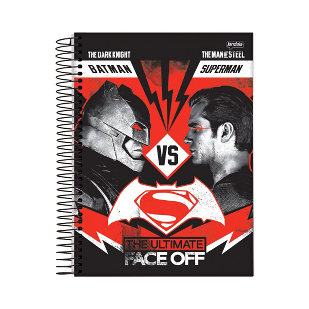 Caderno Batman VS Superman Face Off 1 Matéria