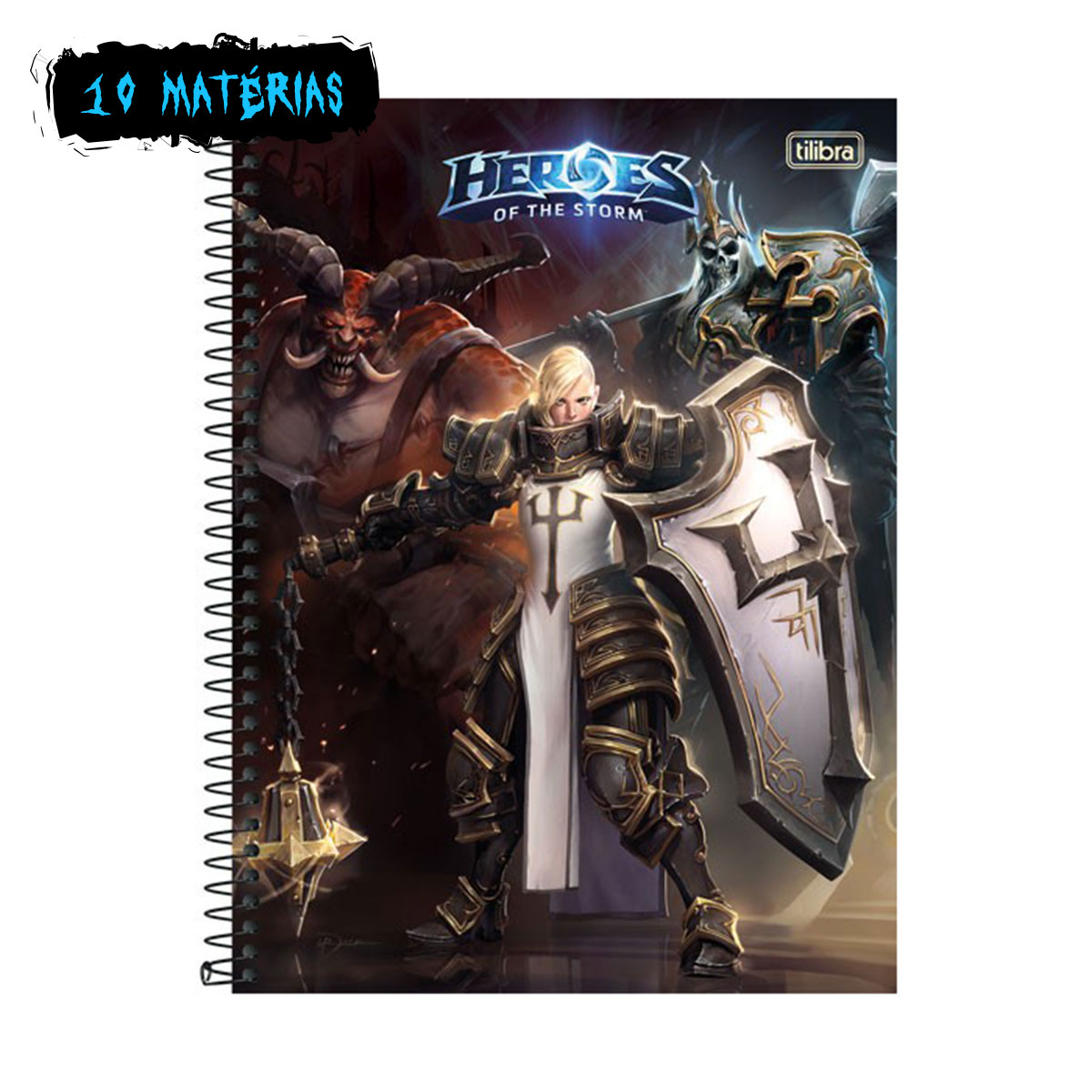 Caderno Heroes Of The Storm Johana 10 Matérias