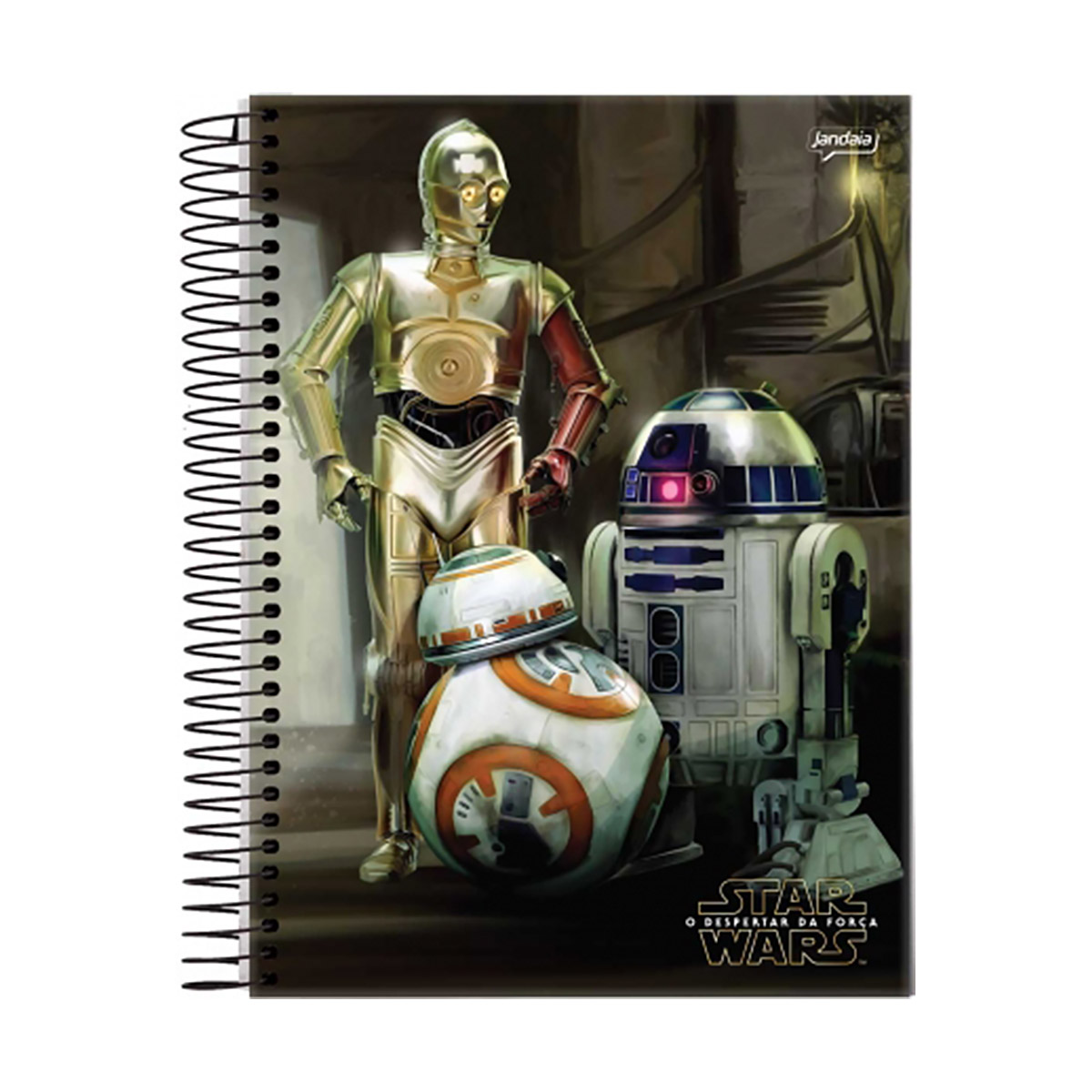 Caderno Star Wars Droids 1 Matéria