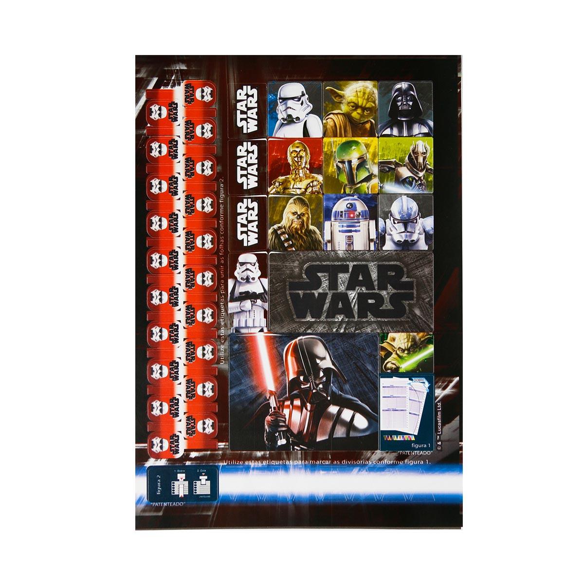 Caderno Star Wars Kylo Ren 10 Matérias