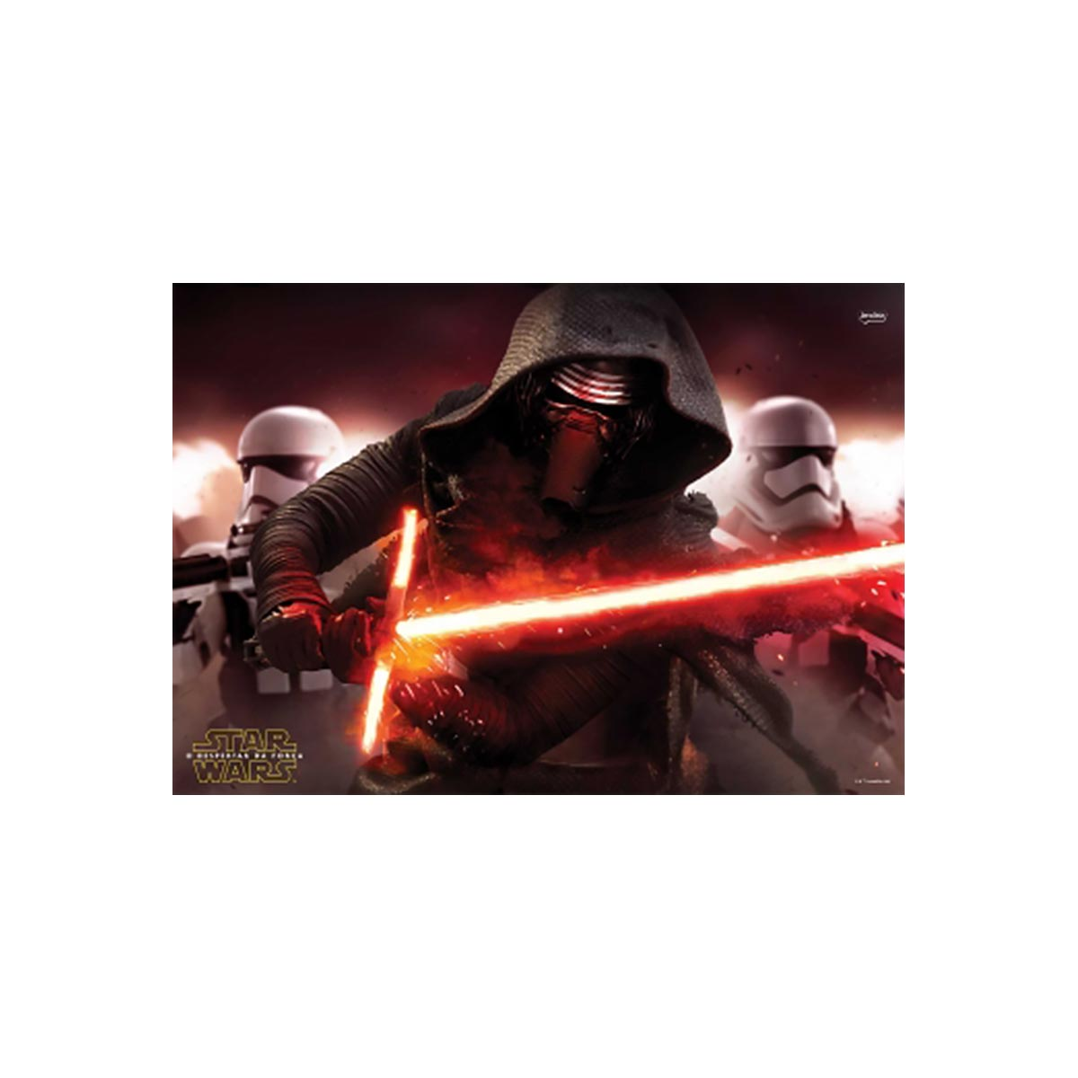 Caderno Star Wars Rey BB8 1 Matéria