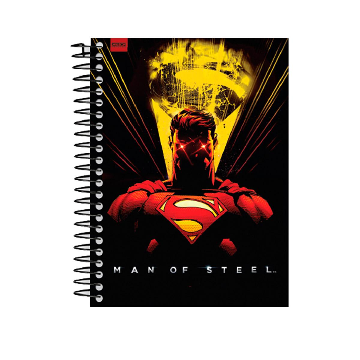 Caderno Superman Dark Ray Vision 1 Matéria