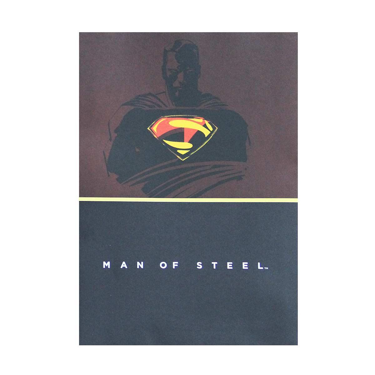Caderno Superman Man of Steel Brown 10 Matérias