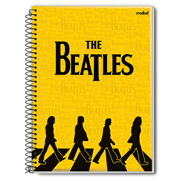Caderno The Beatles Abbey Road Tracing 1 Matéria
