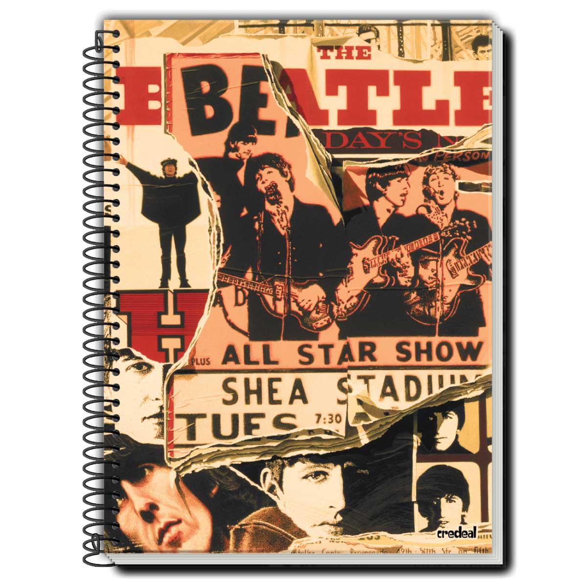 Caderno The Beatles All Star Show 1 Matéria
