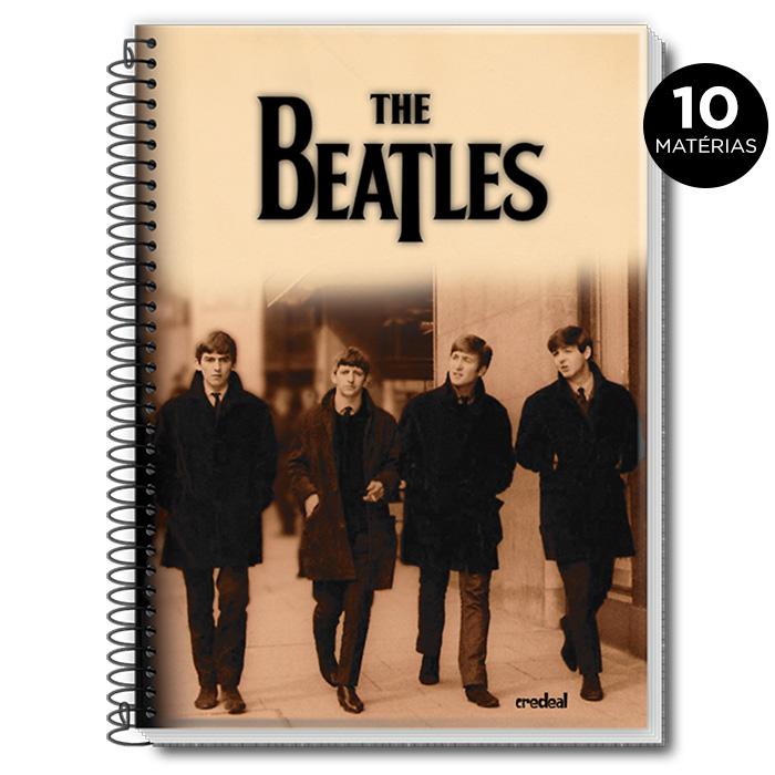 Caderno The Beatles Live at BBC 10 Matérias