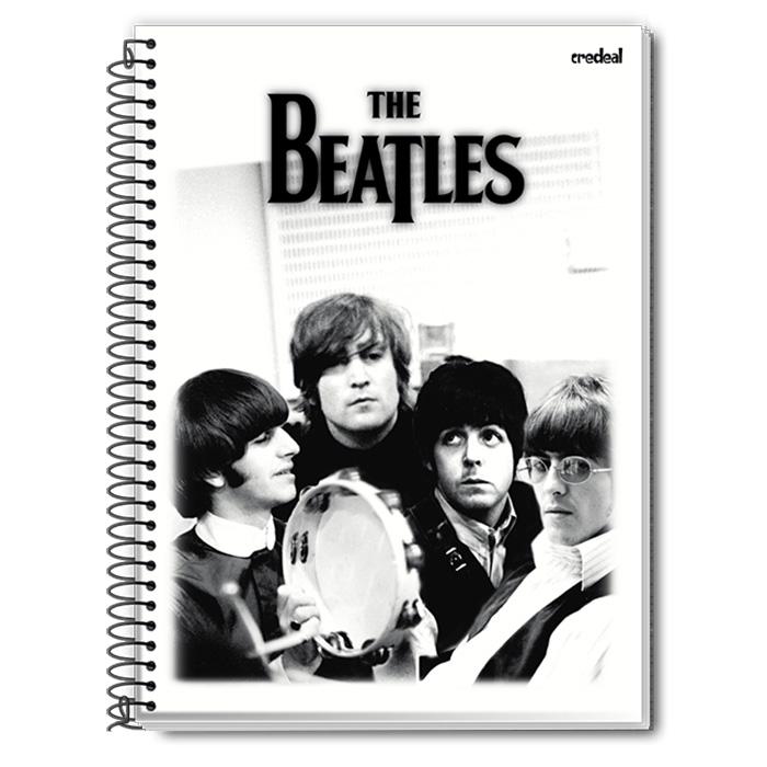 Caderno The Beatles P&B 1 Matéria