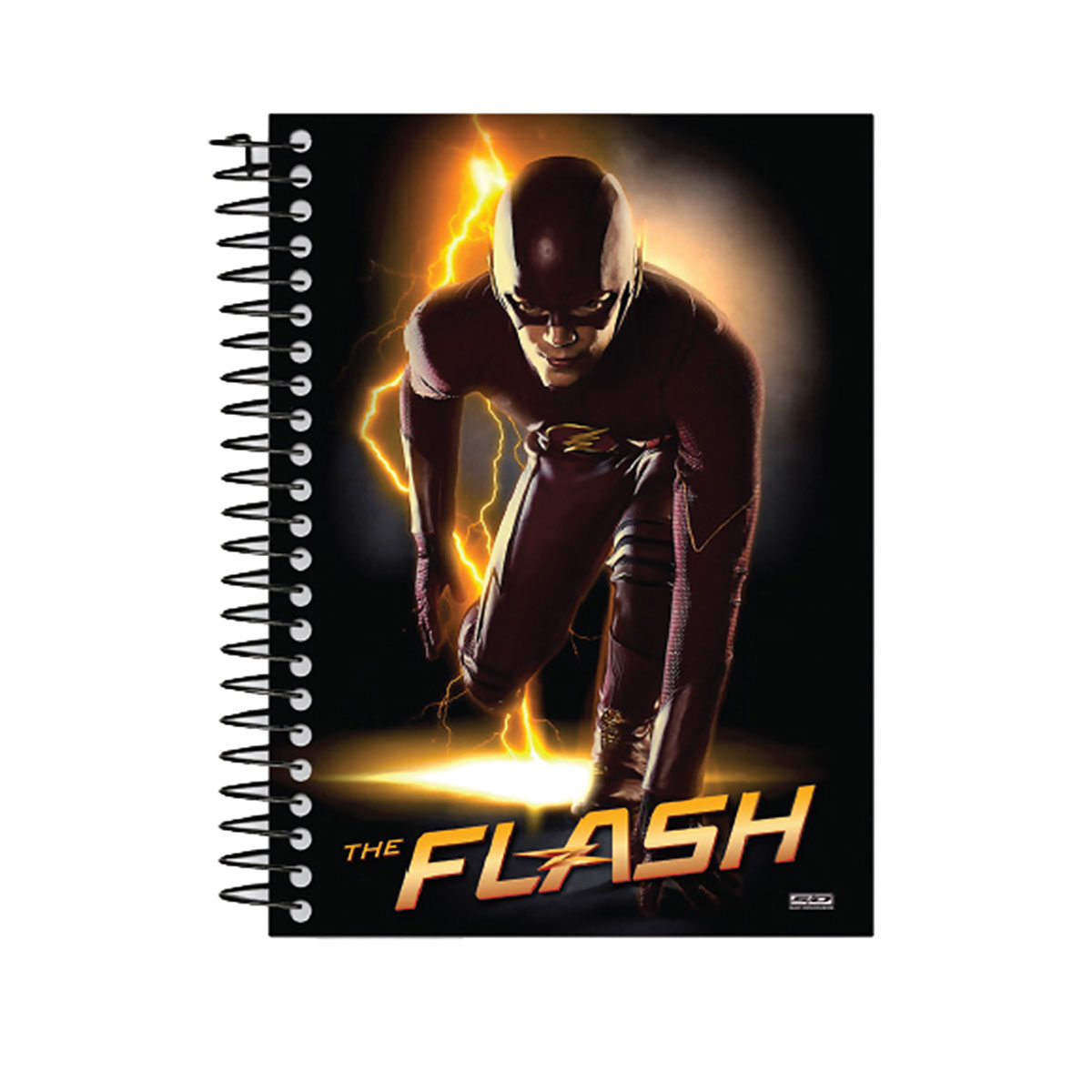 Caderno The Flash Serie Barry 1 Matéria