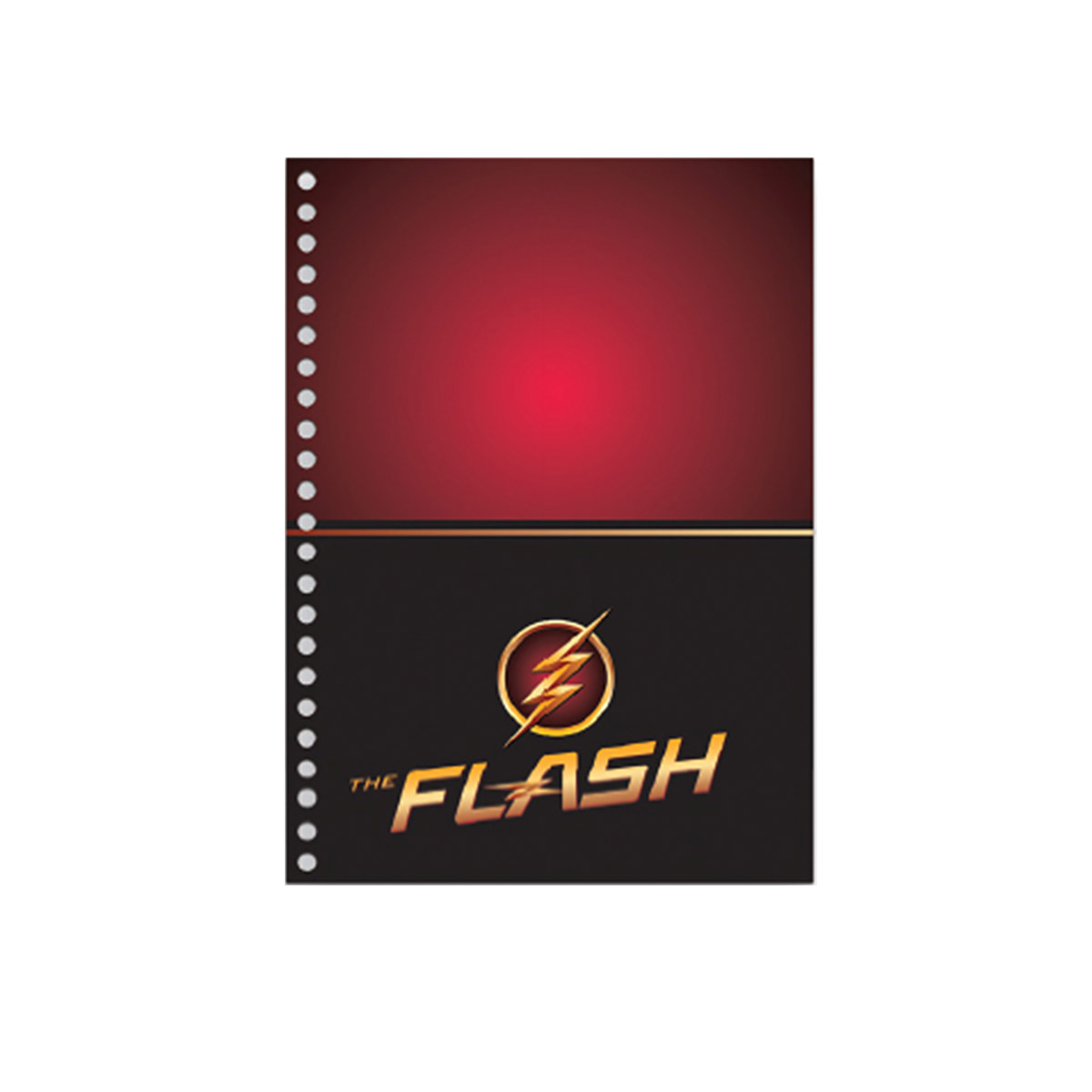 Caderno The Flash Serie Danger 1 Matéria