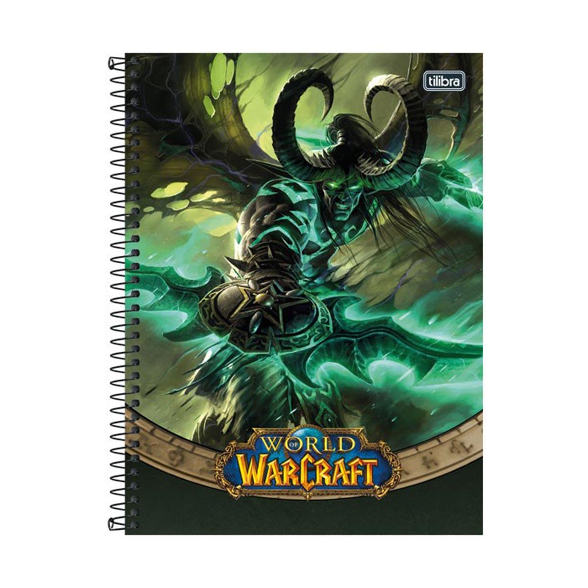 Caderno World of Warcraft Illidan 1 Matéria
