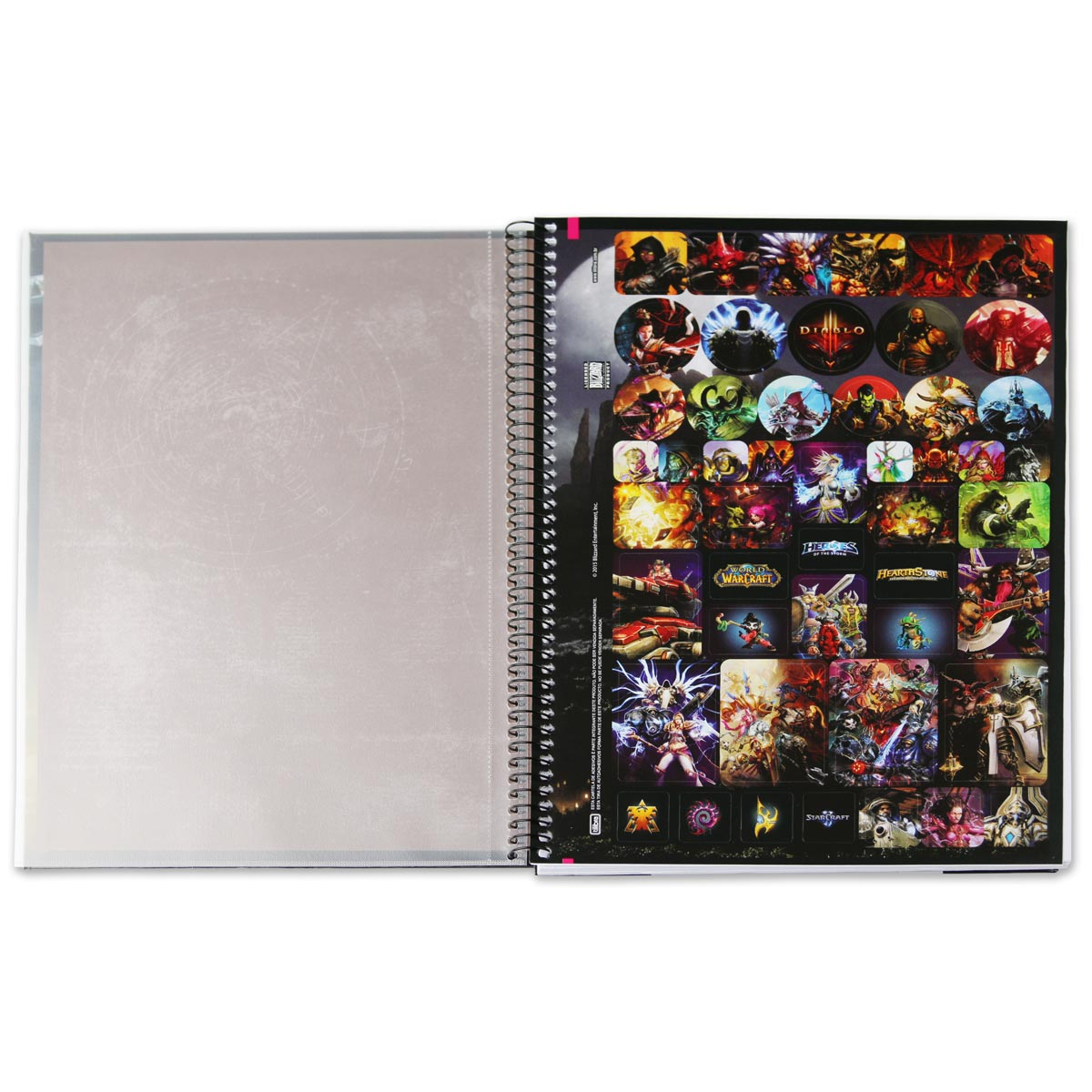 Caderno World of Warcraft Illidan 10 Matérias