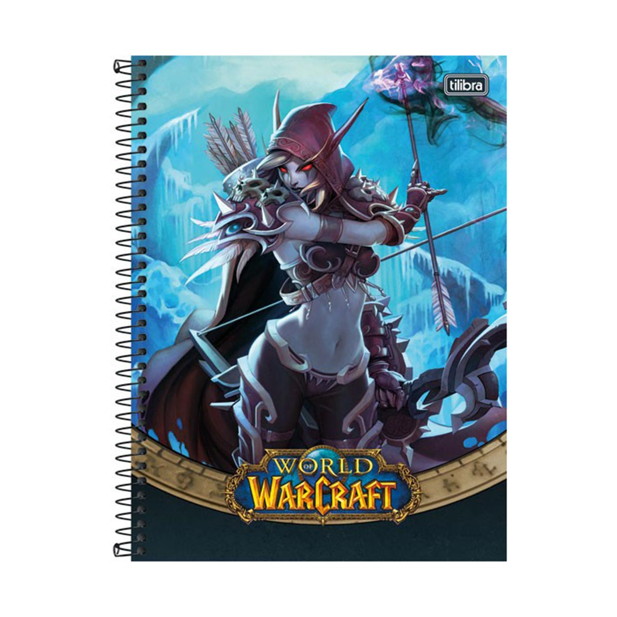 Caderno World of Warcraft Sylvanas 1 Matéria