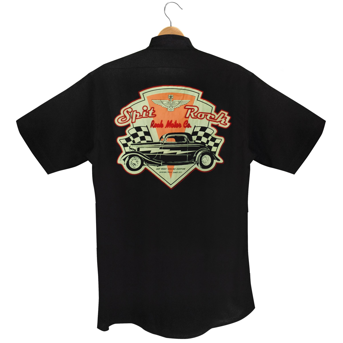 Camisa Manga Curta Custom Motors Co.