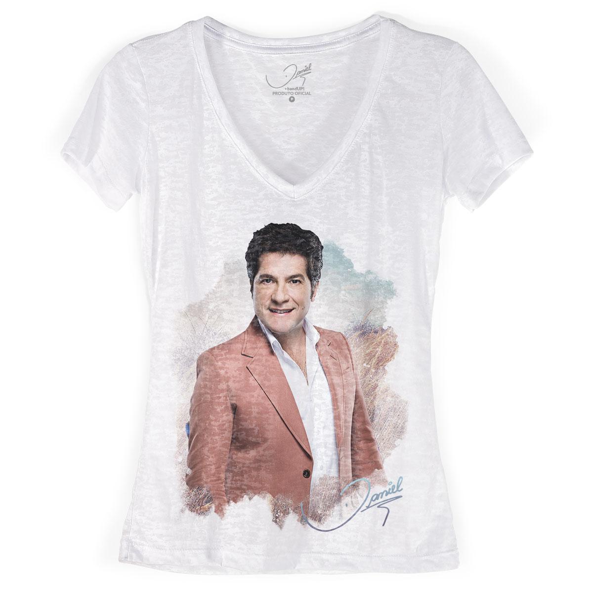 Camiseta Devorê Feminina Daniel Colors