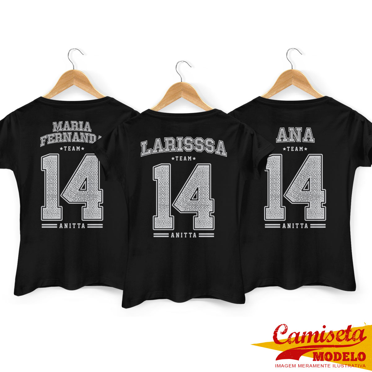 Camiseta Feminina Anitta College Team 2