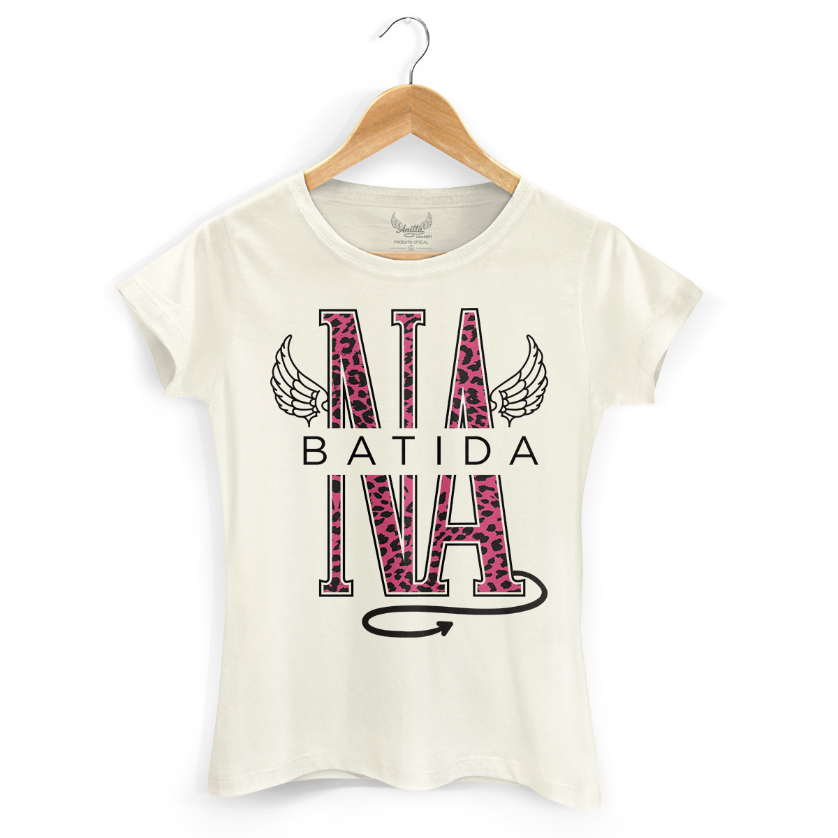 Camiseta Feminina Anitta Na Batida