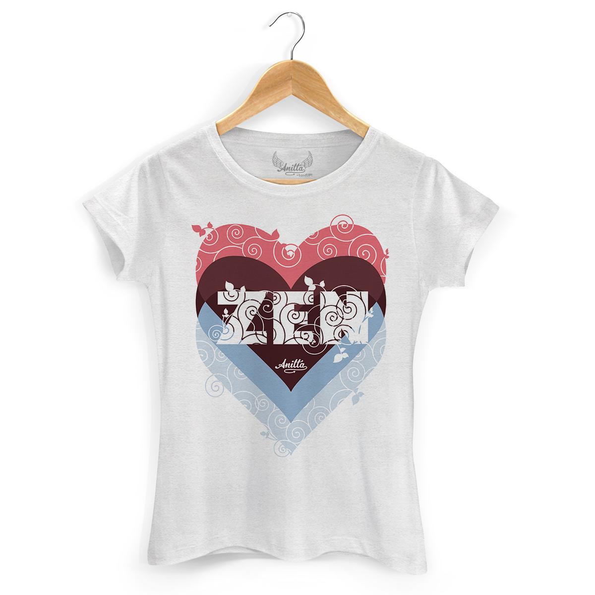 Camiseta Feminina Anitta Zen