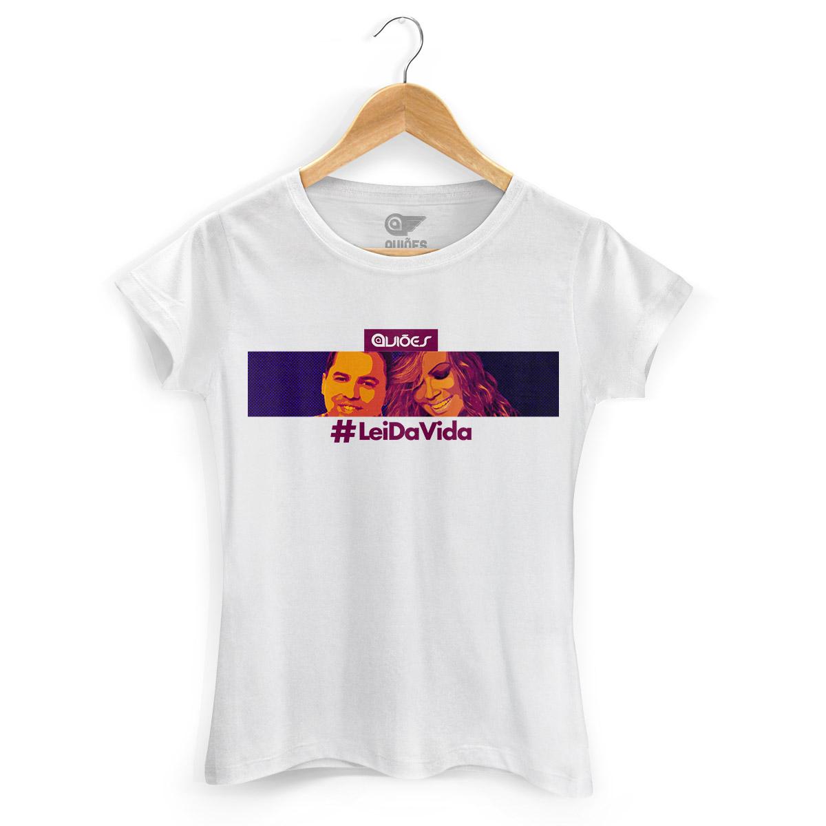 Camiseta Feminina Aviões do Forró Essa é a Lei da Vida