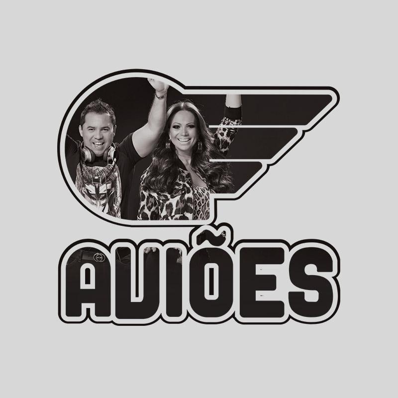 Camiseta Feminina Aviões do Forró Logo