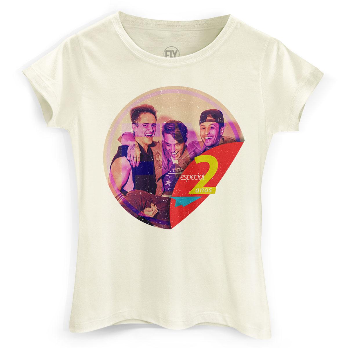 Camiseta Feminina Banda Fly 2 Anos